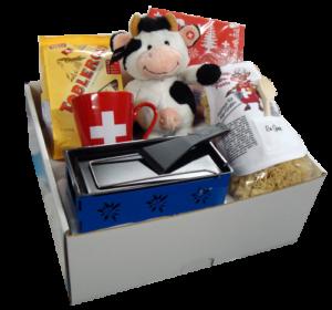 Schweizer Geschenkkorb