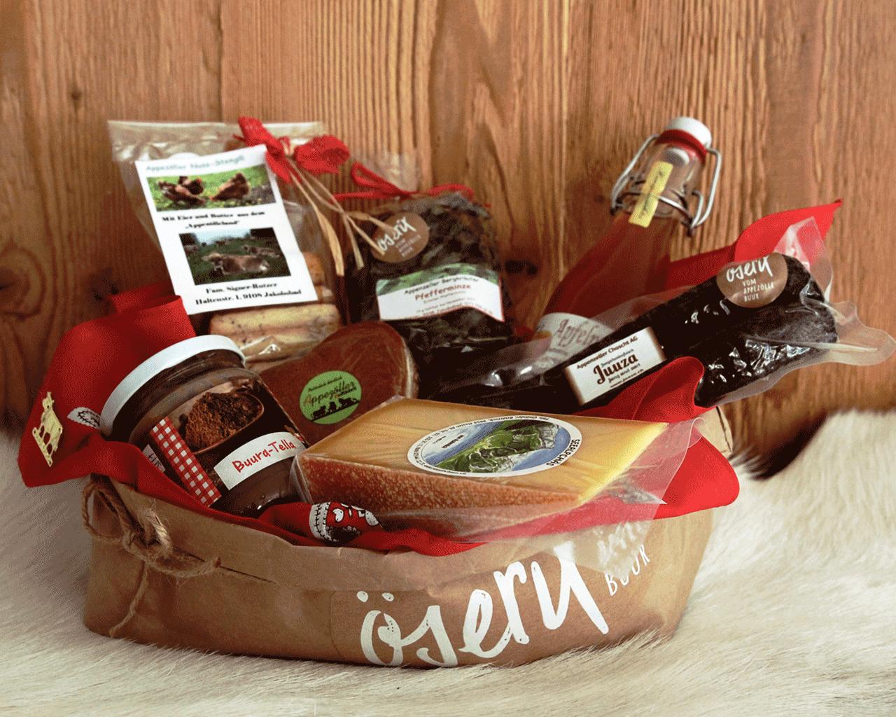 Geschenkkorb Appenzell